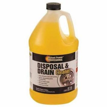 Disposal and Drain Cleaner,1 gal.,Lemon