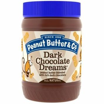 Peanut Butter & Co., Dark Chocolate Dreams, Peanut Butter Blended with Rich Dark Chocolate, , 16 oz (pack of 12)