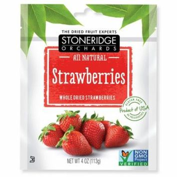 Stoneridge Orchards, Strawberries, Whole Dried Strawberries, 4 oz (pack of 6)