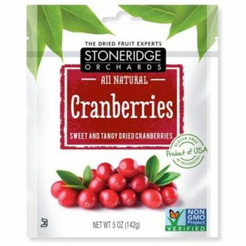 Stoneridge Orchards, Cranberries, Sweet & Tangy Dried Cranberries, 5 oz (pack of 4)
