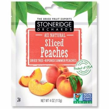 Stoneridge Orchards, Sliced Peaches, Dried Tree-Ripened Summer Peaches, 4 oz (pack of 1)