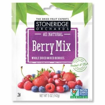 Stoneridge Orchards, Berry Mix, Whole Dried Mixed Berries, 5 oz (pack of 4)