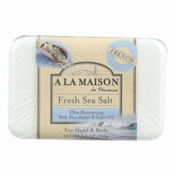 A La Maison Bar Soap - Fresh Sea Salt - 8.8 Oz