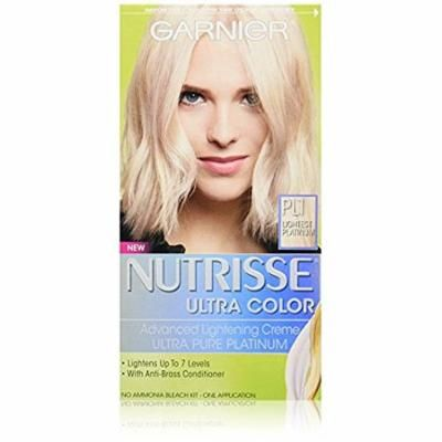 Garnier Nutrisse Permanent Haircolor, Lightest Platinum 1.0 ea(pack of 2)