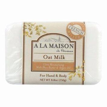 A La Maison Bar Soap - Oat Milk - 8.8 Oz