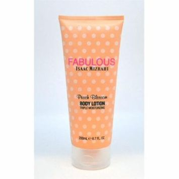 Isaac Mizrahi FABULOUS Peach Blossom Triple Moisturizing Body Lotion 6.7 Oz