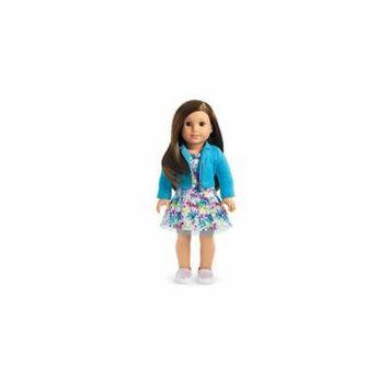 American Girl - 2017 Truly Me Doll: Brown Eyes, Layered Brown Hair, Light Skin Tone DN68
