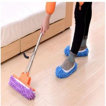 Holiday specials Multifunctional Mop Shoe Cover/Slippers. Perfect for Cleaning Dust, Pet Hair!
