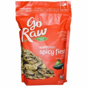 Go Raw, Organic Sprouted Spicy Fiesta Seeds with Celtic Sea Salt, 16 oz (pack of 6)