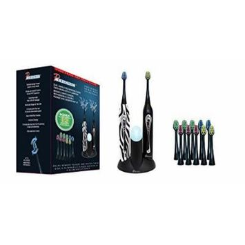 PURSONIC S452BZ Dual Handle Sonic Toothbrush with UV Sanitizer by Pursonic