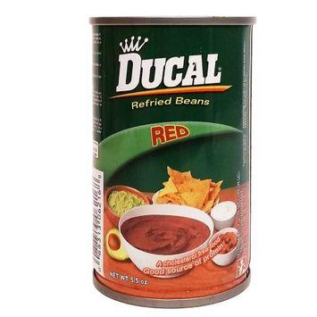 Ducal Red Beans 5.5 oz - Frijol Rojo (Pack of 12)