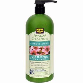 Avalon Conditioner - Organic Tea Tree - 32 Oz