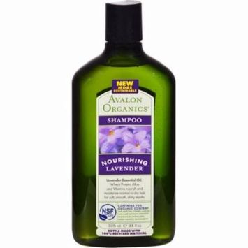 Avalon Organics Nourishing Shampoo Lavender - 11 Fl Oz