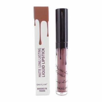 OKALAN Matte Long Lasting Liquid Lipstick - Brooklyn Thorn