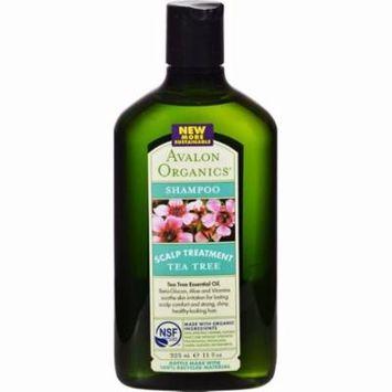 Avalon Organics Scalp Treatment Tea Tree Shampoo - 11 Fl Oz