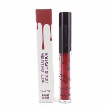 OKALAN Matte Long Lasting Liquid Lipstick - Rouge Cerise