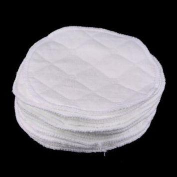Hot Sale 12pcs Reusable Nursing Breast Pads Washable Soft Absorbent Feeding Breastfeeding