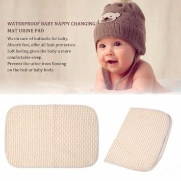 Hot Sale Comfortable Newborn Baby Diaper Changing Pad Cotton Breathable Urine Pad