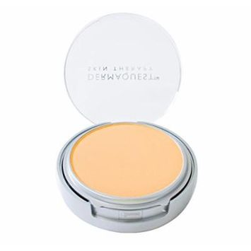 DermaMinerals by DermaQuest Buildable Coverage Pressed Mineral Powder Facial Foundation SPF 15 - 3W, 9.1g / 0.32 oz