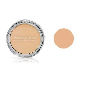DermaMinerals by DermaQuest Buildable Coverage Pressed Mineral Powder Facial Foundation SPF 15 - 2W, 9.1g / 0.32 oz