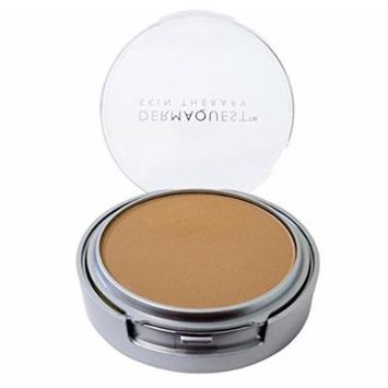 DermaMinerals by DermaQuest Buildable Coverage Pressed Mineral Powder Facial Foundation SPF 15 - 5N, 9.1g / 0.32 oz