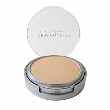 DermaMinerals by DermaQuest Buildable Coverage Pressed Mineral Powder Facial Foundation SPF 15 - 4N, 9.1g / 0.32 oz