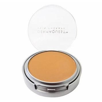 DermaMinerals by DermaQuest Buildable Coverage Pressed Mineral Powder Facial Foundation SPF 15 - 5W, 9.1g / 0.32 oz
