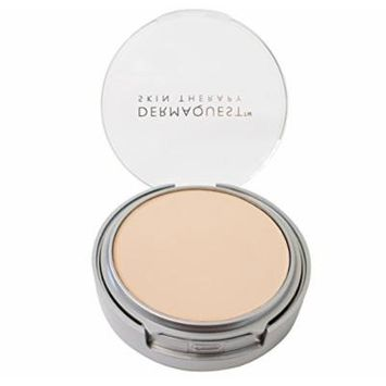 DermaMinerals by DermaQuest Buildable Coverage Pressed Mineral Powder Facial Foundation SPF 15 - 1C, 9.1g / 0.32 oz