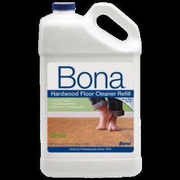 Bona18159 Hardwood Floor Cleaner Ready-To-Use (Wm700018159), Gallon Refill