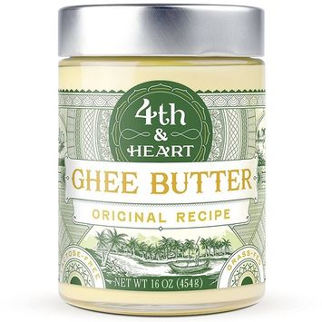 4th & Heart, Ghee Butter, Original Recipe, 16 oz (454 g) [Flavor : Original]