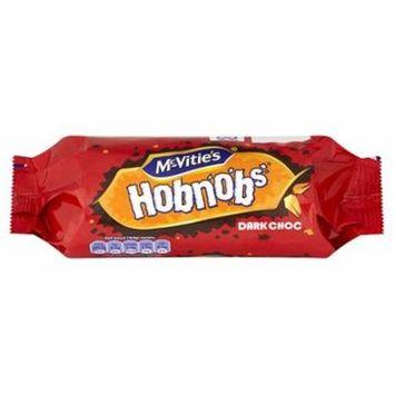 McVities Hobnob Dark Chocolate 262g (3 Pack)
