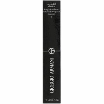 6 Pack - Giorgio Armani Eyes To Kill Classico Mascara, Black 0.33 oz
