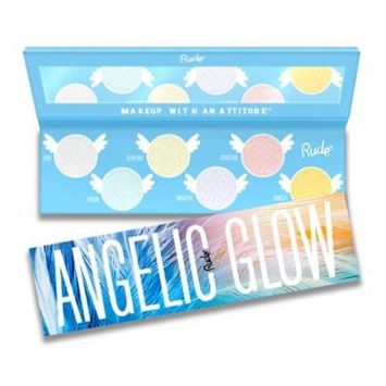 (6 Pack) RUDE Angelic Glow Highlighter + Eyeshadow