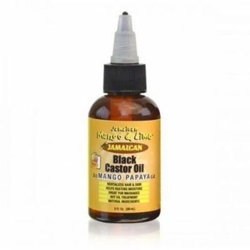 Jamaican Mango & Lime Black Castor Oil, Mango Papaya