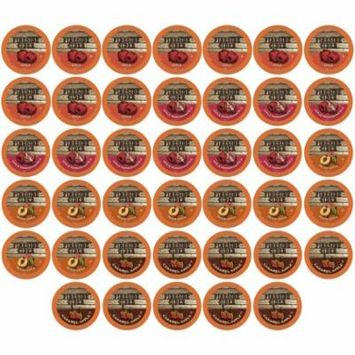 Two Rivers Coffee, Hot Cider Sampler, 40 Count Kcups
