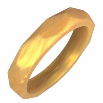 Gumeez® 'Grace' Teething Bangle (Gold Pearl)