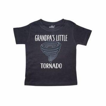 Grandpas Little Tornado Boys Grandson Toddler T-Shirt