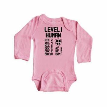 Level 1 Human Long Sleeve Creeper