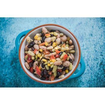 Organic Cranberry Beans, 25 Pounds - Dried Borlotti Beans, Non-GMO, Kosher, Raw Romano Beans in Bulk, Product of the USA