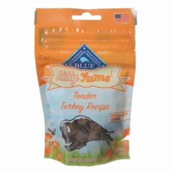 Blue Buffalo Kitty Yums Moist Cat Treats - Tender Turkey Recipe 2 oz - Pack of 10