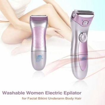 Washable Electric Lady Epilator Facial & Body Bikini Underarm Wet & Dry Hair Remover Trimmer Shaver Razor Personal Care