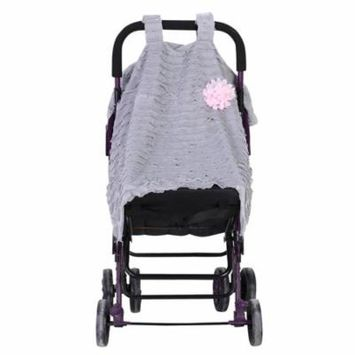 EECOO Baby Stroller Seat Cover Breathable Sun Shade Dustproof Blanket for Daily Travel Use Baby Breathable Cover Breathable Cover