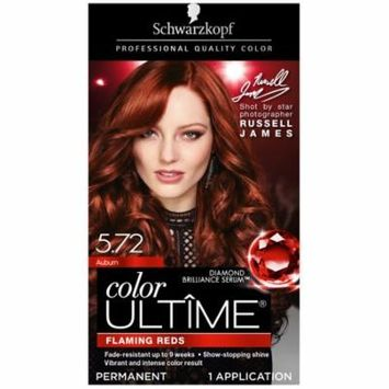 Schwarzkopf Color Ultime Permanent Hair Color Cream, 5.72 Auburn