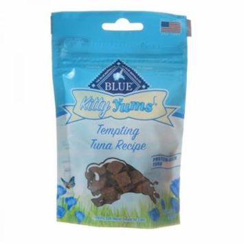 Blue Buffalo Kitty Yums Moist Cat Treats - Tempting Tuna Recipe 2 oz - Pack of 4