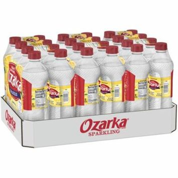OZARKA Sparkling Lively Lemon Natural Spring Water 24 ct Pack