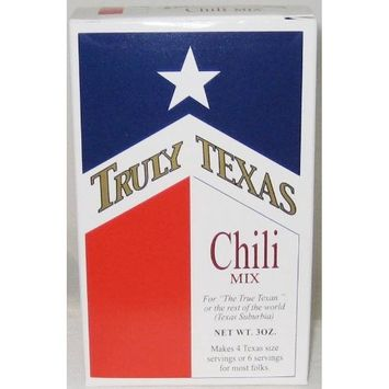 Truly Texas Chili Spice Mix - 4 Pack