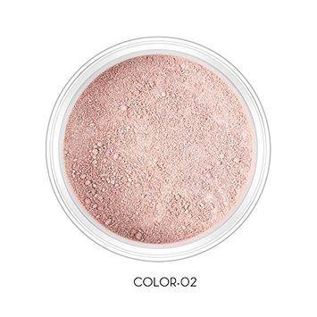O.TWO.O Face Shimmer Loose Powder Glitter Long-lasting Highlighter Makeup Powder Illuminating Contour Natural Brighten Skin