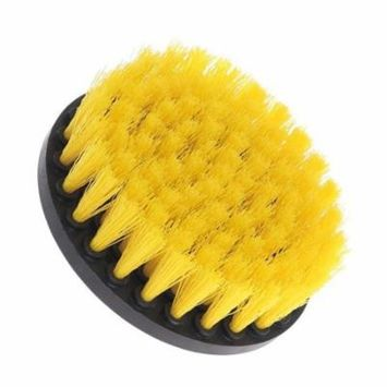 Drill Brush Power Scrubber Stiff Scrub Brush Bit Pad Bathroom Tile Tool