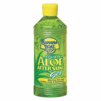Banana Boat Soothing Aloe After Sun Gel, 16 oz (Pack of 2)
