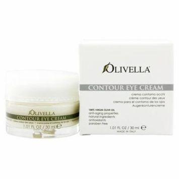 Virgin Olive Oil Contour Eye Cream - 1.01 oz. by Olivella (pack of 6)